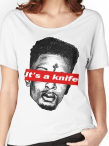 "21 Savage ""it's a knife"" Supreme Women's Relaxed Fit T-Shirt"