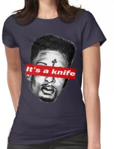 """21 Savage """"it's a knife"""" Supreme Womens Fitted T-Shirt"""