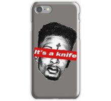 "21 Savage ""it's a knife"" Supreme iPhone Case/Skin"