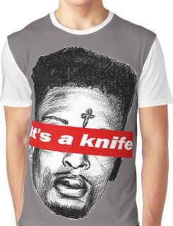 """21 Savage """"it's a knife"""" Supreme Graphic T-Shirt"""