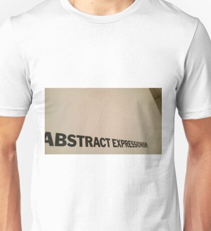Abstract Expressionism T-Shirt