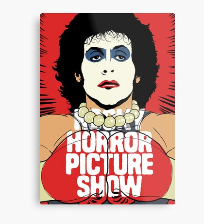 Horror Picture Metal Print