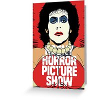 Horror Picture Greeting Card