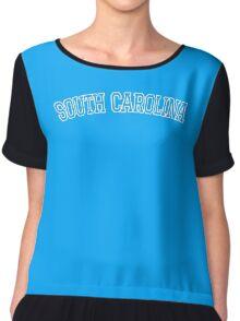 South Carolina United States of America Chiffon Top