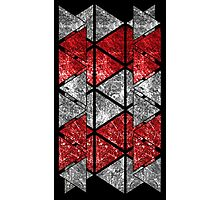Red Triangle Stack Photographic Print