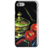 Black Still Life iPhone Case/Skin