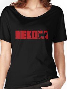 Haikyuu Nekoma Logo shirt Women's Relaxed Fit T-Shirt