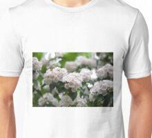 Mountain Laurel in bloom Unisex T-Shirt