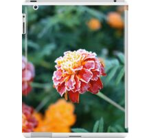 Frosty marigolds iPad Case/Skin