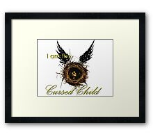I Am The Cursed Child Framed Print