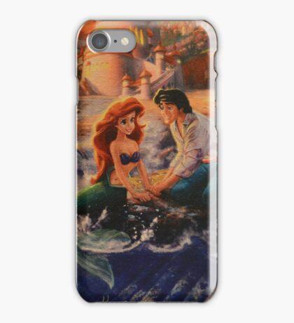 Mermaid Prince Dog Fish Crab Princess Prince iPhone Case/Skin