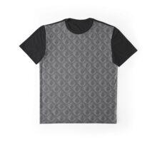 Seamless 3D Damask Pattern Graphic T-Shirt