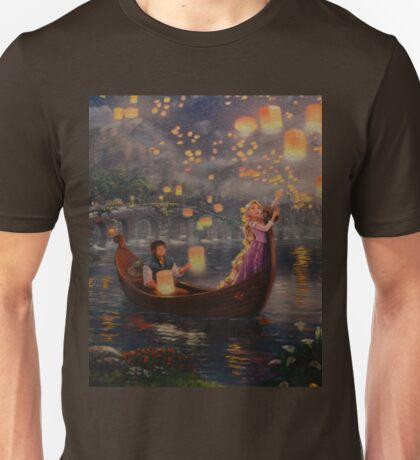 Stars Fireworks Night Life  Unisex T-Shirt