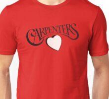 Carpenters 1972 classic album logo design  Unisex T-Shirt