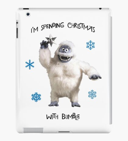 Bumble for Christmas iPad Case/Skin