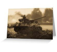 WW2 Tank Greeting Card