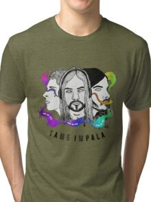 Tame Impala - See No Evil, Hear No Evil, Speak No Evil Tri-blend T-Shirt