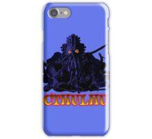 CTHULHU BLUE HP LOVECRAFT iPhone Case/Skin