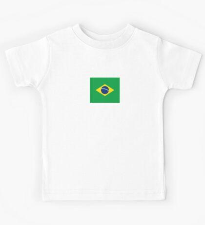 Brazil Mini Skirt Kids Tee