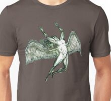 ICARUS THROWS THE HORNS - grungy sheen Unisex T-Shirt