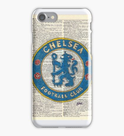 Chelsea on Dictionary Paper iPhone Case/Skin