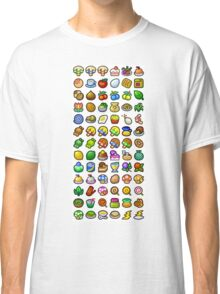 Paper Mario - All Recipes & Ingredients Classic T-Shirt