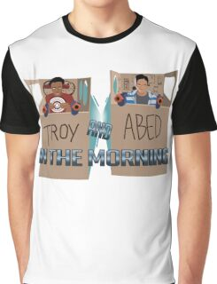 Troy And Abed In Space Graphic T-Shirt