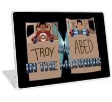 Troy And Abed In Space Laptop Skin