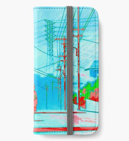WiReDDay (Serial Experiments Lain) iPhone Wallet/Case/Skin