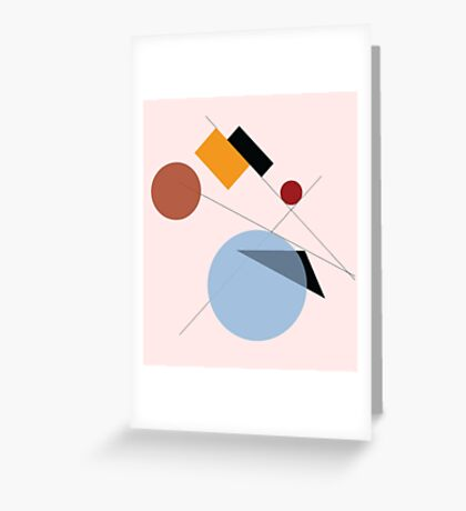 Bauhaus Greeting Card