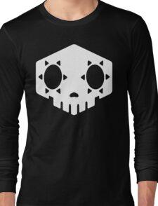 Sombra Skull White Long Sleeve T-Shirt