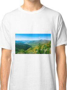 Autumn morning view Classic T-Shirt