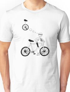 Kid just wants a unicycle Unisex T-Shirt
