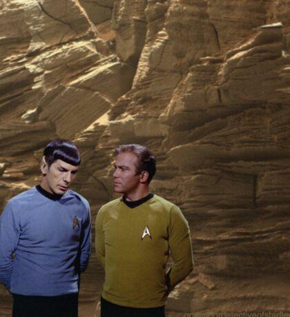 Star Trek on Mars 2 Sticker