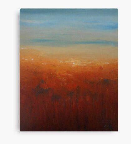 Sunburnt Country Canvas Print