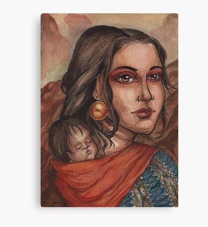 Sacagawea Canvas Print