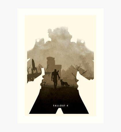 Nuclear 4 (II) Art Print