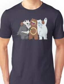 Poke Bare Bears Unisex T-Shirt