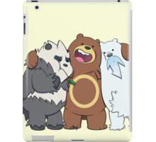 Poke Bare Bears iPad Case/Skin
