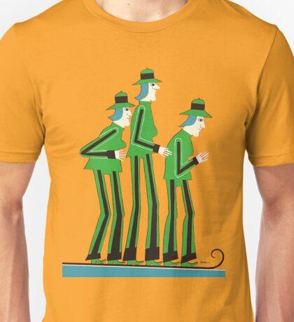 Synchronized Ski Team Unisex T-Shirt