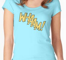 WHAAM! Women's Fitted Scoop T-Shirt