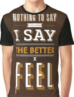 Vintage Quote Graphic T-Shirt
