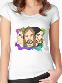 Tame Impala - Three Wise Australians (colored) Women's Fitted Scoop T-Shirt