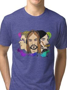 Tame Impala - Three Wise Australians (colored) Tri-blend T-Shirt