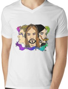 Tame Impala - Three Wise Australians (colored) Mens V-Neck T-Shirt