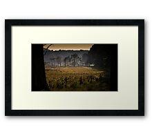 Whitford burrows Gower Framed Print