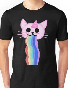 Kawaii Rainbow Cat Unisex T-Shirt