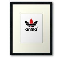 antifa  Framed Print
