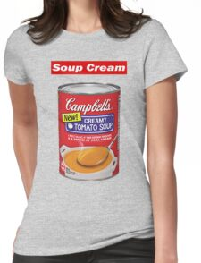 """Supreme """"Soup Cream"""" Womens Fitted T-Shirt"""