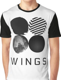 BTS Wings 2 Graphic T-Shirt